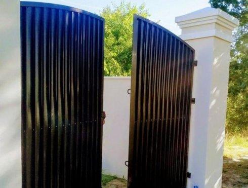 brama metalowa